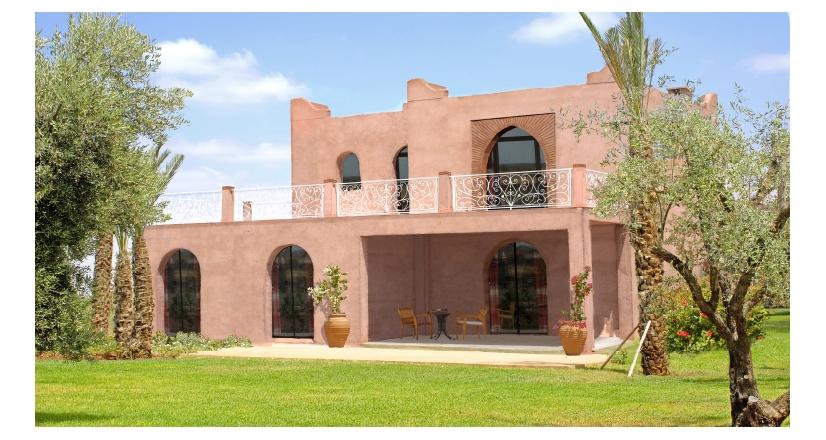 Villa A Vendre Marrakech R Sidence Habiba Villa Type 3
